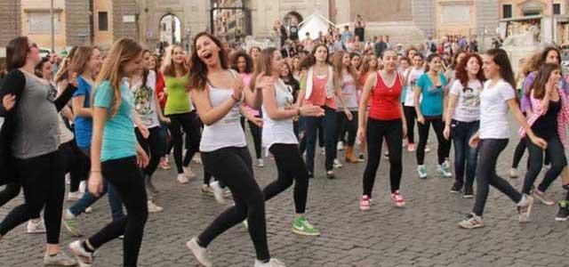 A Palermo il più grande Flash Mob musicale mai visto in Italia.