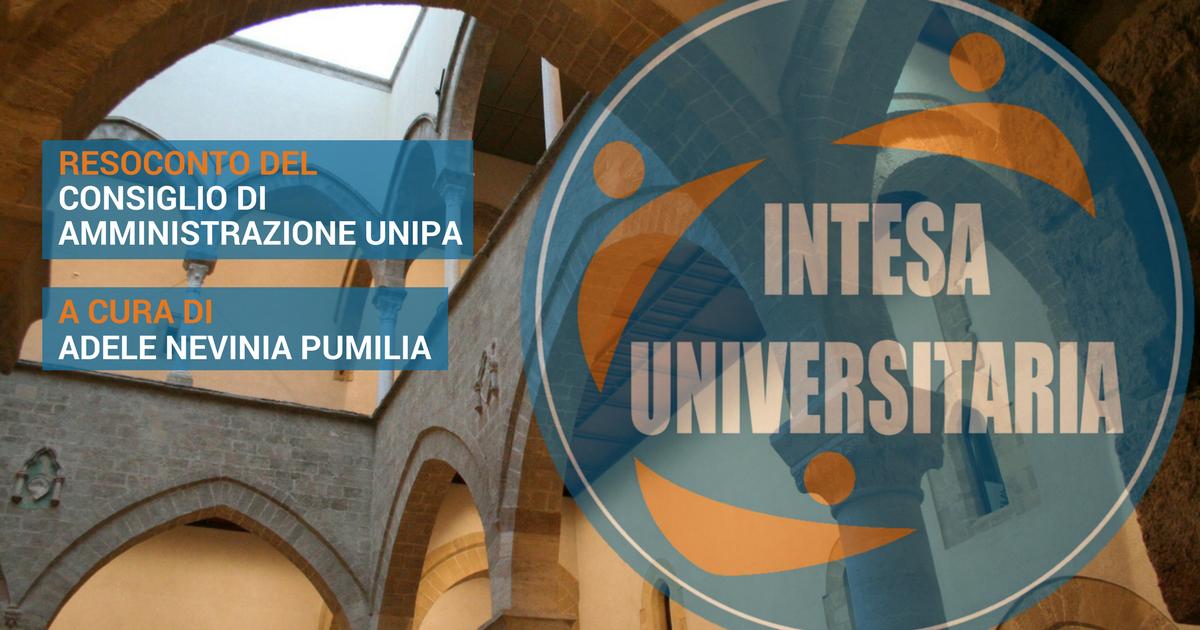 Calendario Didattico Unipa Scuola Delle Scienze Umane.Cda Intesa Universitaria