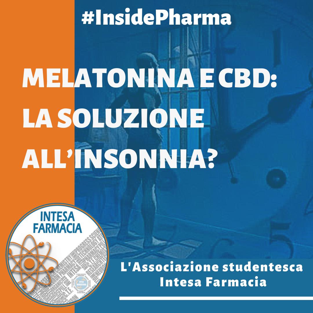 Melatonina e CBD: la soluzione all'Insonnia?