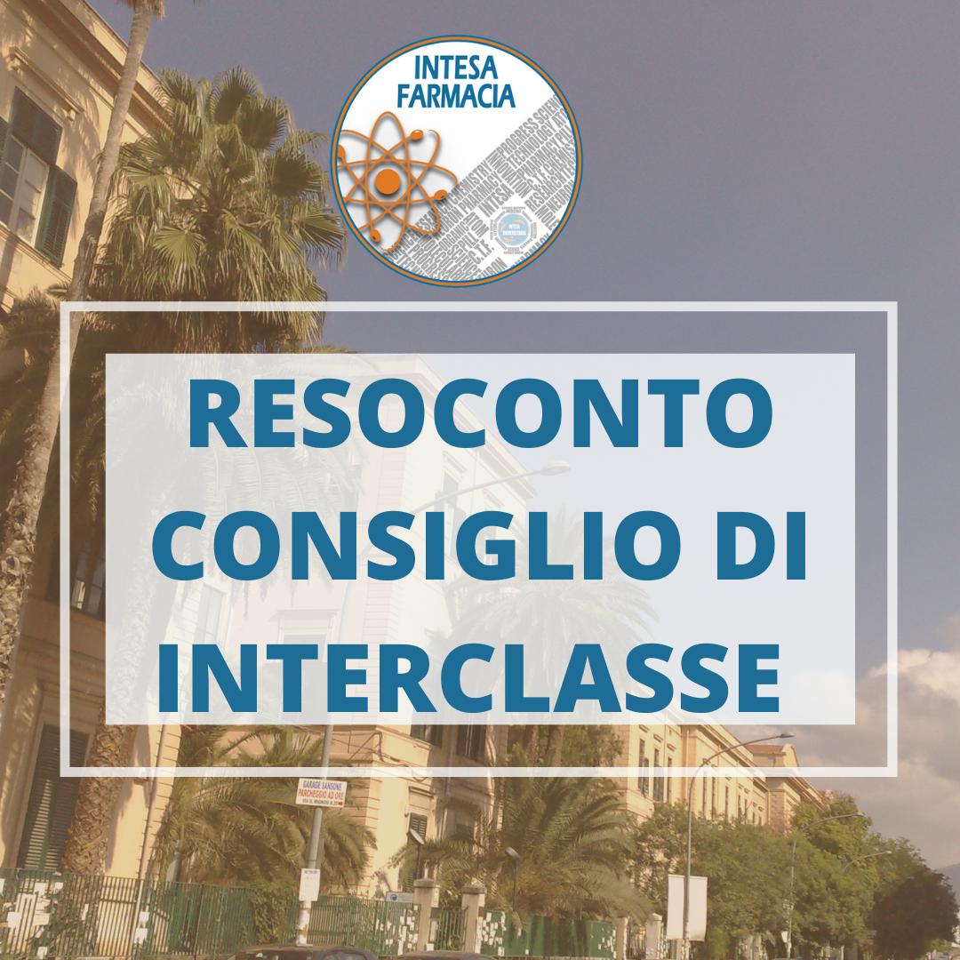 Resoconto Consiglio di Classe LM-13 in Farmacia e Farmacia Industriale 20/10/2020