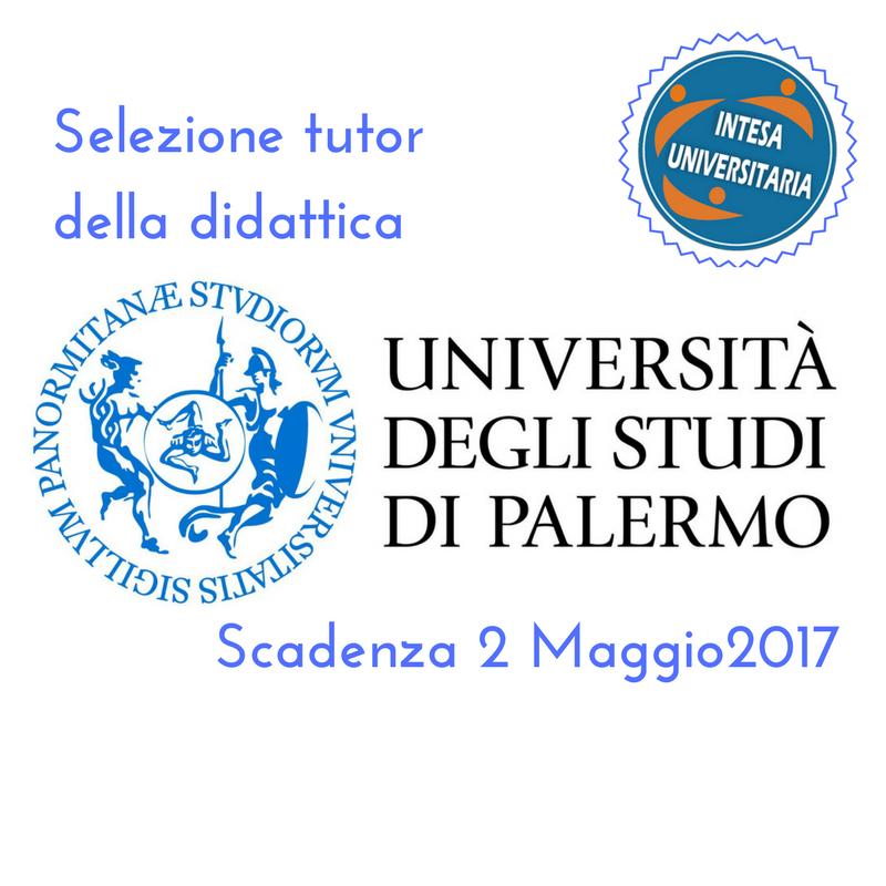BANDO Unipa: Selezione di 108 tutor universitari della didattica