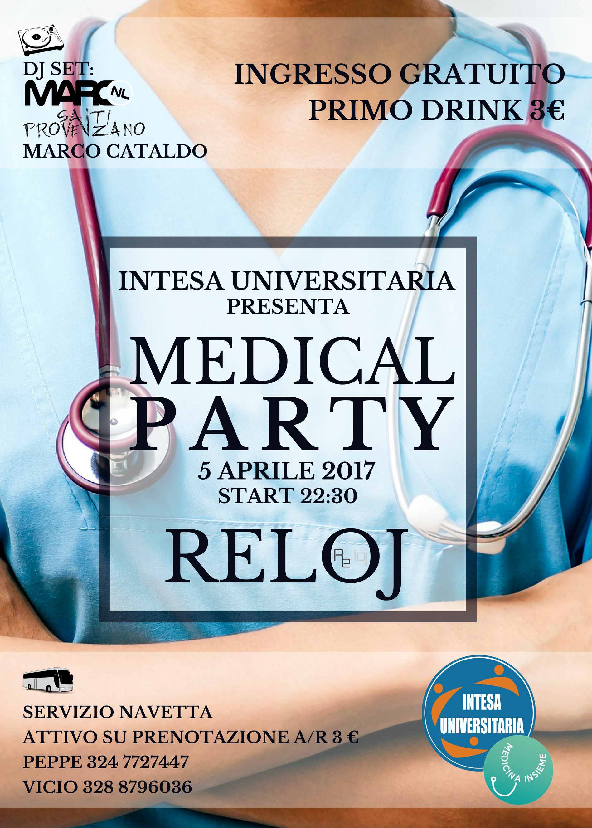 MEDICAL PARTY 5 APRILE PNG