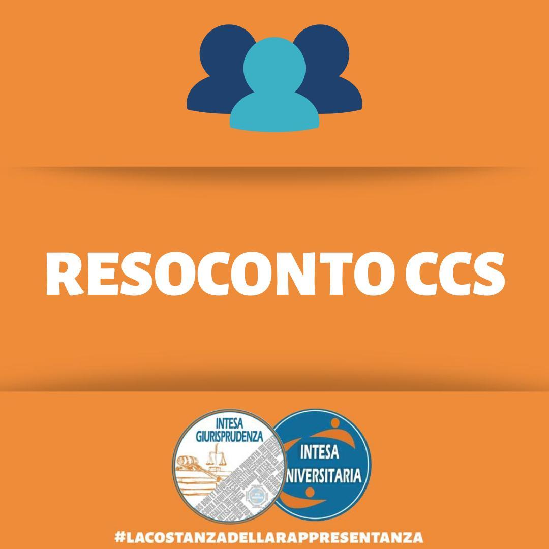 Resoconto Ccs Giurisprudenza- 29/01/2020