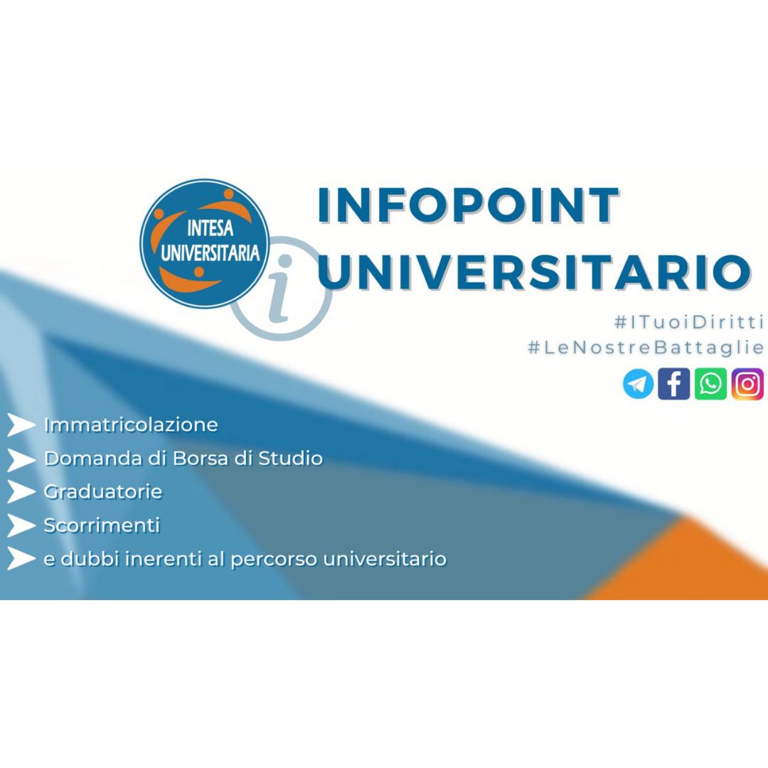 InfoPoint Universitario UniPa 2021 per le future matricole: parte il progetto di orientamento promosso dall'Associazione Intesa Universitaria.
